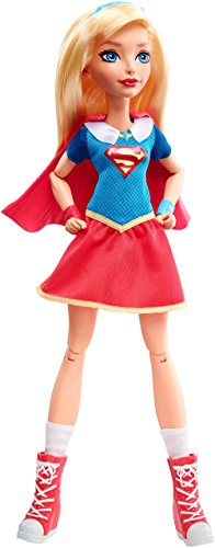Mattel DLT63 - DC Super Hero Girls Supergirl Action Puppe, 30 cm