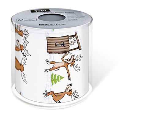 Rolle Toilettenpapier Motiv Auswahl möglich Weihnachten (01 - Beeilung bitte!)