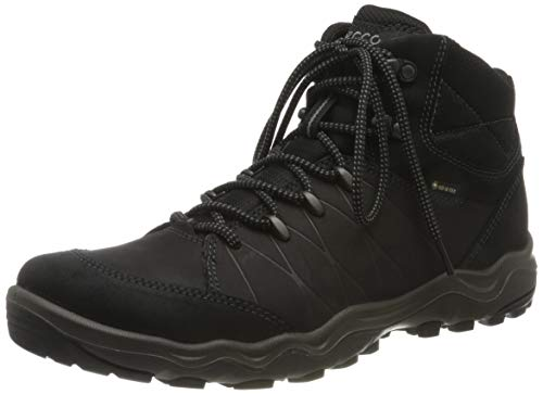 ECCO Men's Hiking Ankle Boot, Black, US 7.5