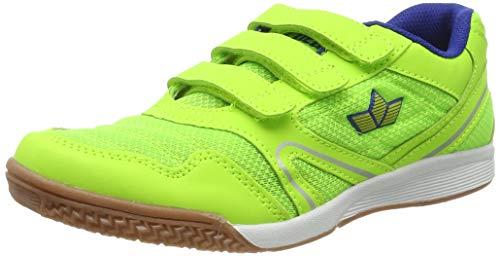 Lico Unisex-Erwachsene Boulder V Multisport Indoor Schuhe, Gelb (Lemon/Blau Lemon/Blau), 38 EU