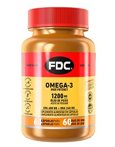Omega-3 Alta Potencia para Estimular el Sistema Cardiovascular, 60 Cápsulas de FDC