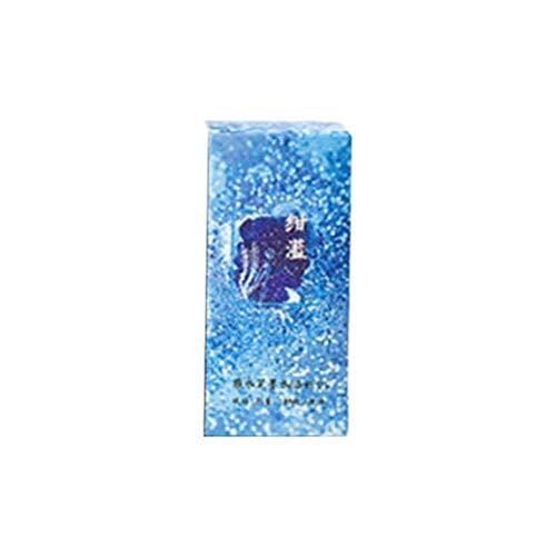 Haorw Tinta de Pluma estilográfica Colorida, Pluma estilográfica de Escritura Suave en Botella de Vidrio, papelería de Recarga de Tinta sin Carbono, 12#