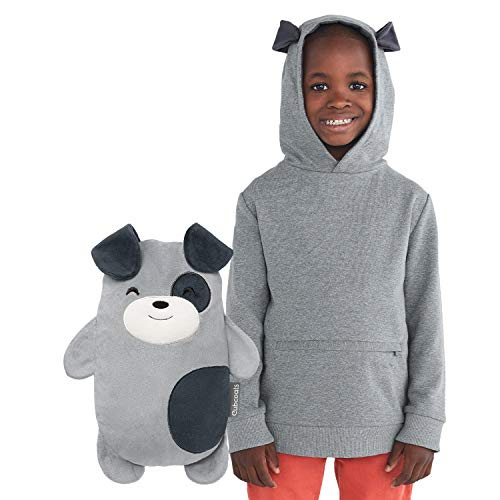 Cubcoats Pimm The Puppy 2-in-1 Transforming Pullover Hoodie & Soft Plushie