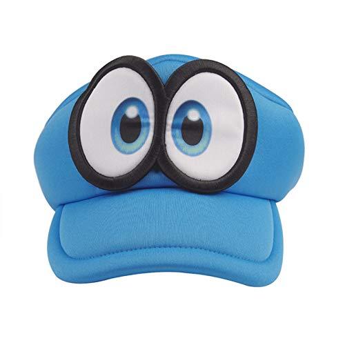 SSN Animado Super Mario Odyssey Cappy Sombreros Bros Luis Wario Caps Adultos...