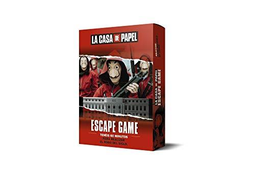 LA CASA DE PAPEL. Escape game LAROUSSE - Libros Ilustrados