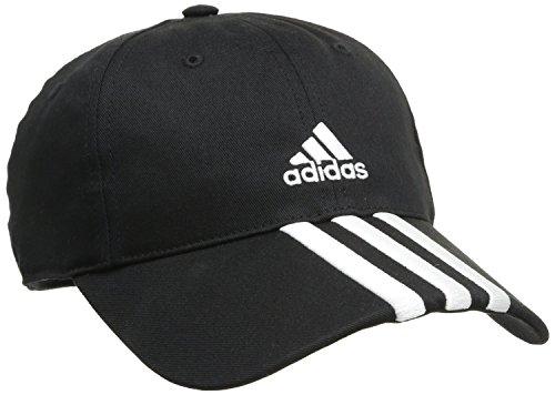 adidas Cap Essentials 3 Stripes, Schwarz, 56-58 cm