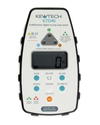 Kewtech ktd40Digital Loop/PSC mit Att