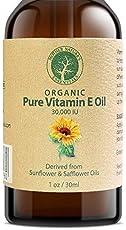 Vorteile von Vitamin E-ÖL für Gesicht Haut und Haar.