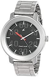 Casual Analog Black Dial Mens Watch -NK3121SM02