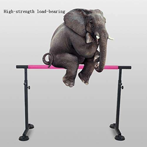 Wall Sculptures Ballet Equipment Freestanding Ballet Barre (black ballet barre brackets for the Home Yoga Studio Ideal for at home, schools Dance Or Active Workouts, Height Adjustable Bar For Stretch
