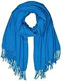 PIECES Pcjira Wool Scarf Noos Bufanda, Azul (Victoria Blue Victoria Blue), Talla única para Mujer