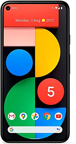 Google Pixel 5 Smartphone 128GB 6 Zoll (15.2 cm) Single-SIM Android 11 Schwarz