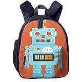Kinderrucksack Kleinkind Jungen Mädchen Kindergartentasche Spielzeugroboter Herz Charakter Backpack Schultasche Rucksack