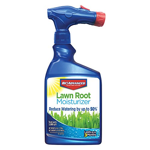 BioAdvanced 717000A Lawn Root Moisturizer Eco Friendly Green Grass, Reduces Watering Needs, 32-Ounce, Ready-to-Spray