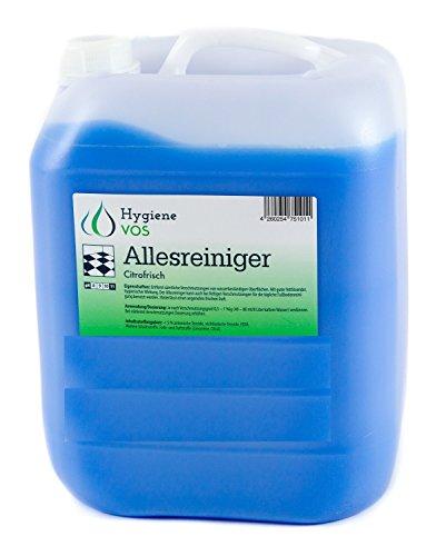 10 Liter Hygiene VOS Allesreiniger Citrofrisch fettlösender Fußbodenbodenreiniger mit frischem Duft