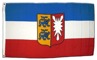 XXL Flagge Fahne Deutschland Schleswig-Holstein 150 x 250 cm