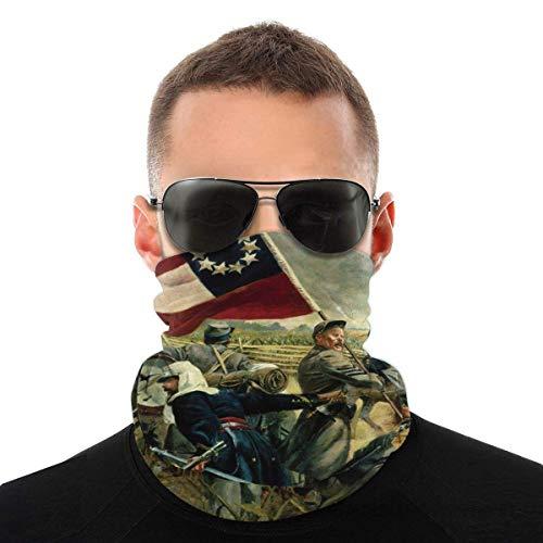 UKUK Pintura al óleo de la Guerra Civil Americana Multifuncional headwear leggings mágica bufanda máscara pasamontañas deportes yoga motocicleta equitación correr