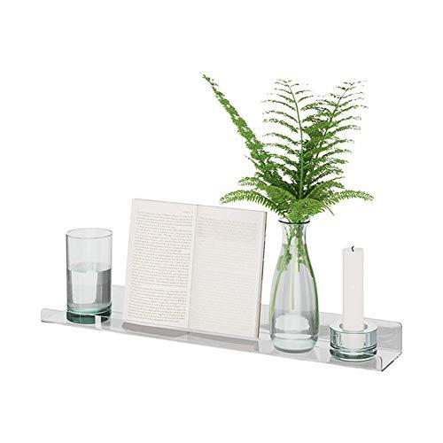 1 estantería de Pared de acrílico para baño y de Pared, Ideal para oficinas, cocinas y Cuartos de baño.