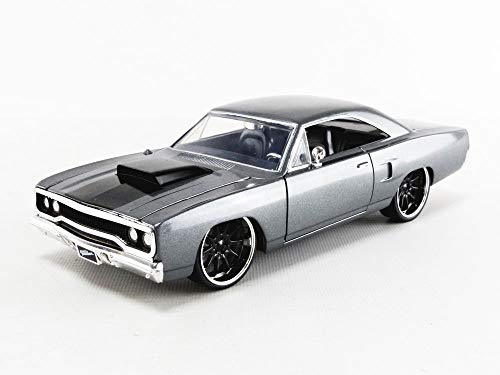 Fast & Furious 1:24 Dom's 1970 Plymouth Roadrunner Die-cast Car, Toys for Kids and Adults