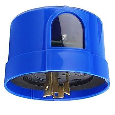 LEDMO Photocell Sensor, Auto On Off Photocell Switch, Twist Lock Photocell for LED Barn Light, Area Light, Street Light, Parking Lot Lights and Dusk to Dawn Light