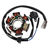 Magneto Ignition Stator 5 wires AC 6 Poles Fits for GY6 50cc 100cc 125cc 150cc Scooter Moped ATV Dune Buggy Go Kart TAOTAO scooter