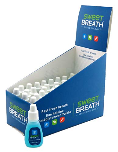 Sweet Breath Drops (48 Pieces) Peppermint (Blue) 0.125 Ounce (4ml)