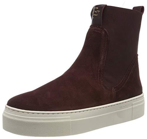 GANT Footwear Damen Marie Stiefeletten, Rot (Port Red G537), 40 EU