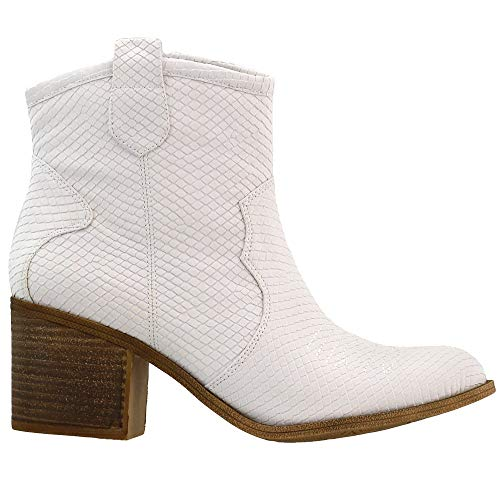 Dirty Laundry by Chinese Laundry Women's Unite Western Boot, White, 8