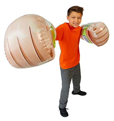 WWE Airnormous | FX Deluxe Muscle Arms | John Cena |Inflatable Muscle Arms with Sounds| Role Play | 15 Inches Tall | Interactive Play