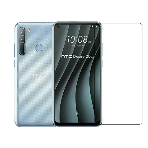 WildCard India Impossible Anti Scratch High Definition Screen Protector/Guard/Cover compatible With HTC Desire 20 Pro,Transparent