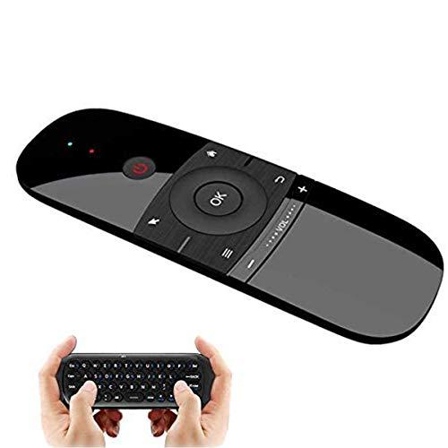 Zeerkeer Teclado Inalámbrico y Ratón,Ratón de Aire para Android TV Box, Smart TV, Ordenador, Portátil, Proyector, HTPC, IPTV, Reproductor Multimedia