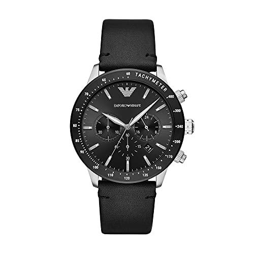 Armani Herren-Uhren Analog Quarz One Size 87756441