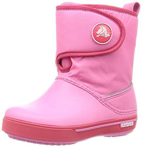 Crocs Jungen Unisex-Kinder Crocband II.5 Gust Boot Kids Schneestiefel, Pink, 24/25 EU