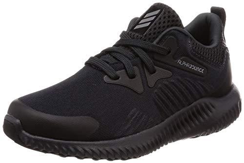 adidas Unisex-Kinder Alphabounce Beyond C Traillaufschuhe, Grau (Carbon/Gricua/Negbás 000), 29 EU
