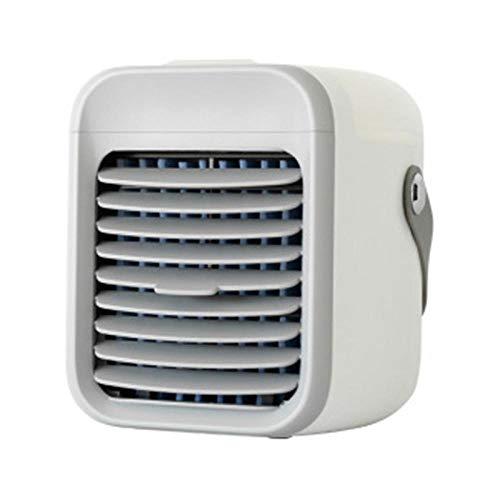 Ventilador ventilador de escritorio ventilador de torre Ventilador portátil de refrigeración por agua Escritorio doméstico Mini aire acondicionado Ventilador pequeño Refrigerador USB