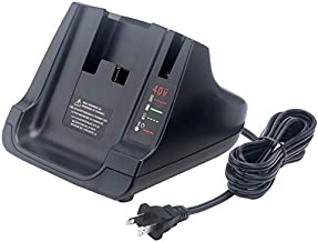 Elefly 40V MAX Battery Charger for Black and Decker 40V Charger LCS36 LCS40, Compatible with Black & Decker 36V 40V Lithium Battery LBXR36 LBX36 LBXR2036 LBX1540 LBX2040 LBX2540