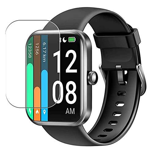 Vaxson 3 Unidades Protector de Pantalla, compatible con LETSCOM ID206 1.69' Smart watch [No Vidrio Templado Carcasa Case ] TPU Película Protectora