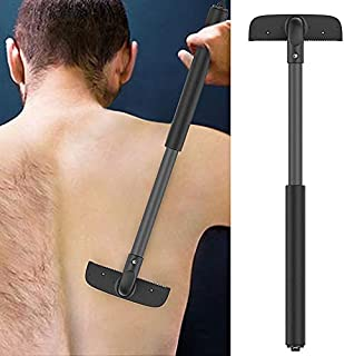 Back Shaver Adjustable Back Hair Shaver Body Shaver for Men Upgraded Back Razor Back Hair Removal for Dry & Wet Use