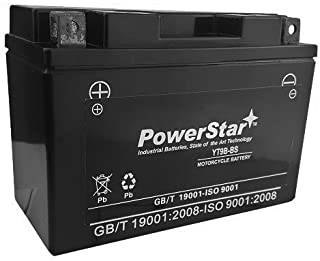 Maintenance Free Battery 2001-2007 Yamaha YZF-R6, R6S Size YT9B-BS Battery