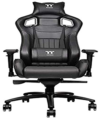 Thermaltake Tt eSPORTS X Fit XF100 Racing Bucket Seat Style Ergonomic Gaming Chair Black