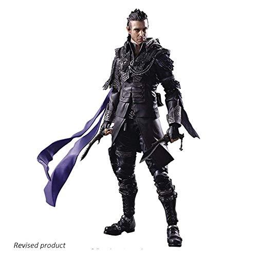 XXSDDM-WJ Muñeca Kingsglaive Final Fantasy XV Nyx Ulric Action Arts Figurita Kai0108
