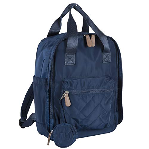 Chicco Bolso mamá modelo mochila práctica cambiador incluido apertura con cremallera Correas ajustables Cómodo bolsillo exterior frontal color azul