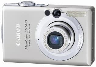 Canon PowerShot SD600 6MP Digital Elph Camera with 3x Optical Zoom (OLD MODEL)