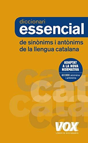 Diccionari Essencial de Sinònims i Antònims (Vox - Lengua Catalana - Diccionarios Generales)
