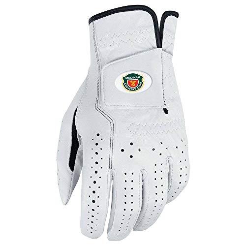 Nike Custom Crested Classic FL Golf Gloves 2017 Cadet White/Black Fit to Left Hand Large