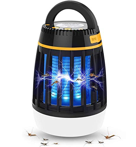 Bug Zapper Light Bulbs, 3 in 1 Mosquito Zapper Lamp, UV LED Insect & Fly Killer Bulb for Outdoor and Indoor