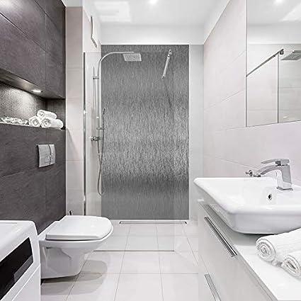 mural salle de bain id panneaux alu