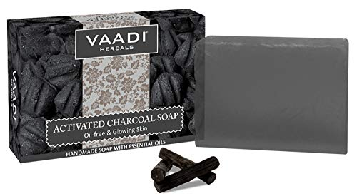 Activated Charcoal Soap 75g (Pack of 6 x 75g)