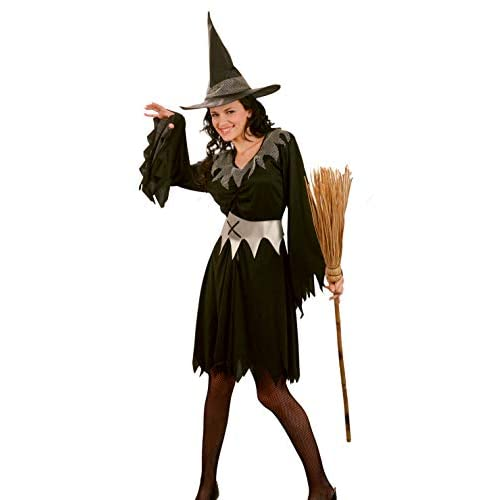 Ciao-Costume Dark Witch, taglia unica adulto Donna, nero, 62041