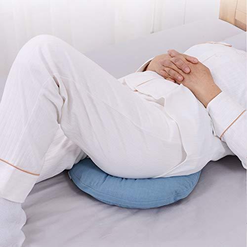 PINGJIA Cuscino Rotondo antidecubito Cuscino Memory Foam, Supporto per gravità, Cuscino per Sedia Cuscino Invernale Traspirante per Sedia a rotelle Parte Inferiore del Sedile Cuscino antidecubito